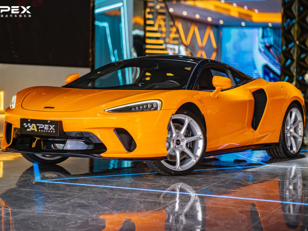 迈凯伦 迈凯伦GT 橙色/黑色 2019款4.0T标准型