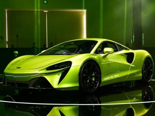 迈凯伦 Artura 绿色/白色 2021款 3.0T PHEV 标准型